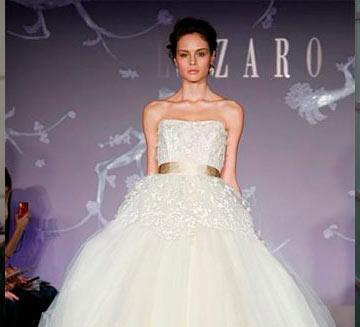 Vestidos de novia de Lazaro