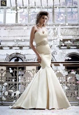 trajes de novias 2009