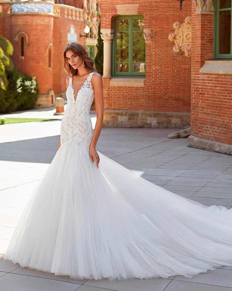 Luna Novias vestidos de novia 2021 - Yarin