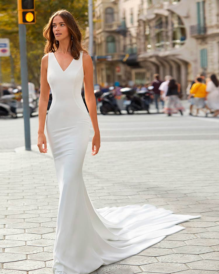Vestidos de novia Luna Novias 2021 - Modelo Yala