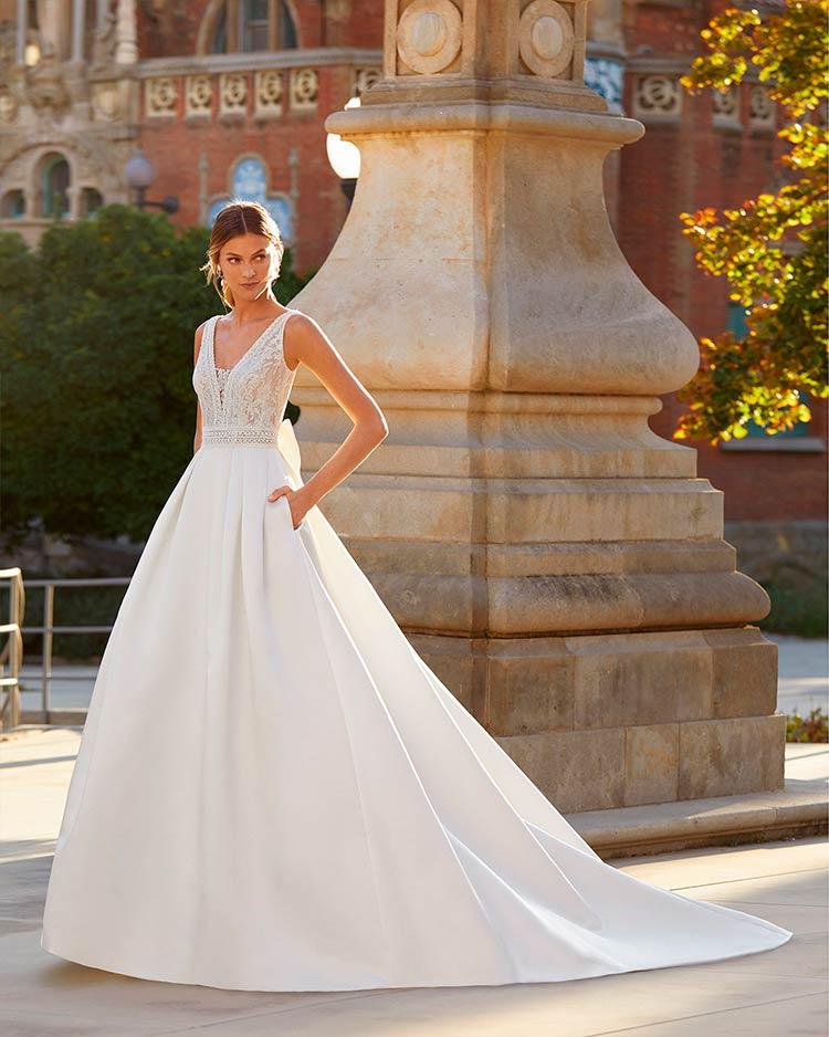 Vestidos de novia Luna Novias 2021 - Modelo Yulia