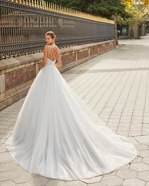 Luna novias 2022 - Vestido de novia Fiordo