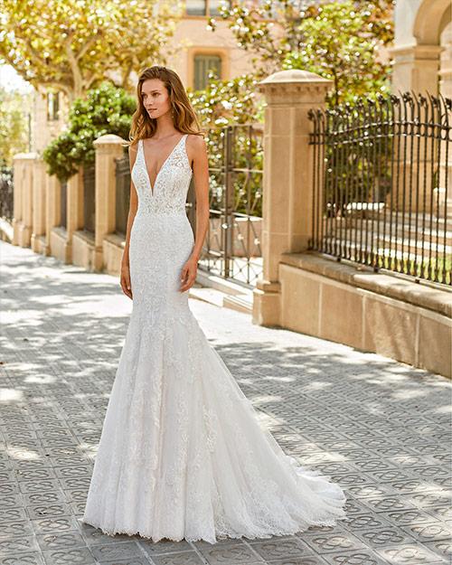 Luna novias 2022 - Vestido de novia Fedra