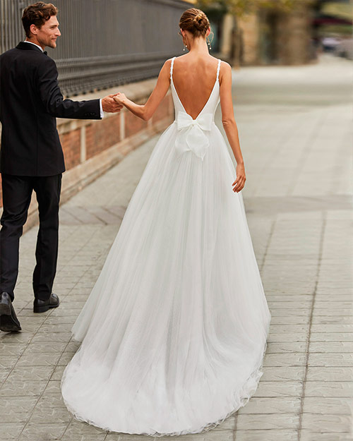 Luna novias 2022 - Vestido de novia Filos