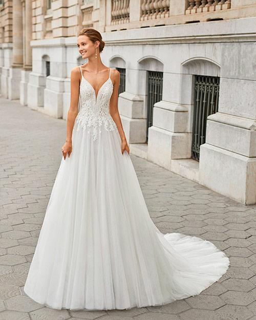 Luna novias 2022 - Vestido de novia Finna