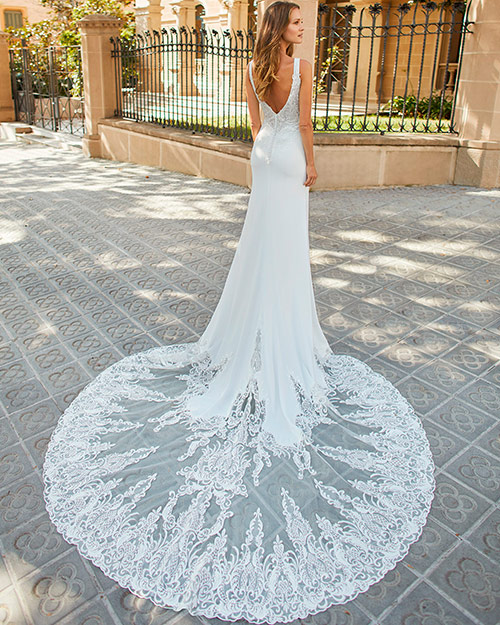 Luna novias 2022 - Vestido de novia Fatsia
