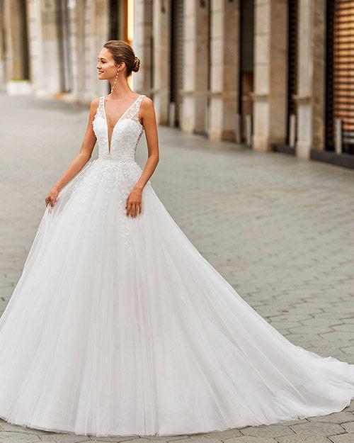 Luna novias 2022 - Vestido de novia Fian