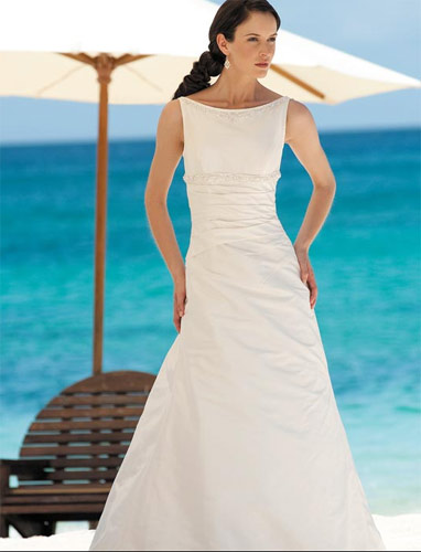 Vestidos sencillos para novia
