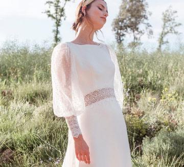Vestidos de novia de mangas Novia D'art 2021