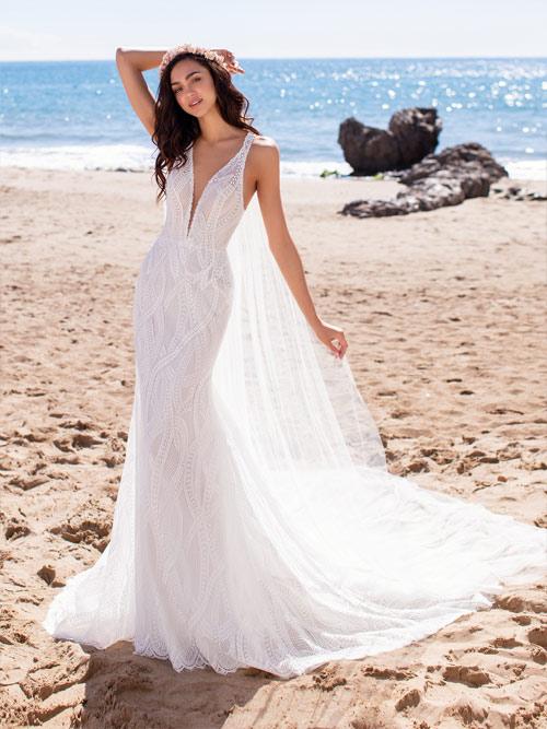 vestidos de novia cortos de pronovias