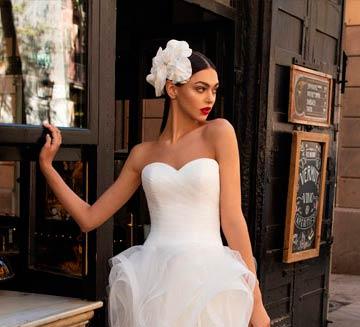 los mejores Vestidos de novia con escote de corazon de pronovias del 2020