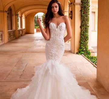 Vestidos de novia corte sirena Pronovias
