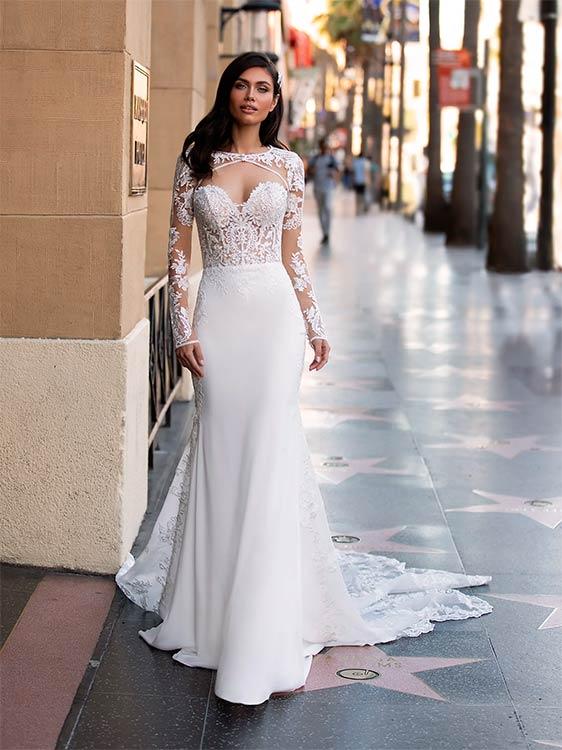 pronovias vestido de novia 2021 Monroe