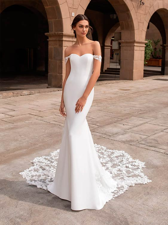 pronovias vestidos de novia modelo Syrinx