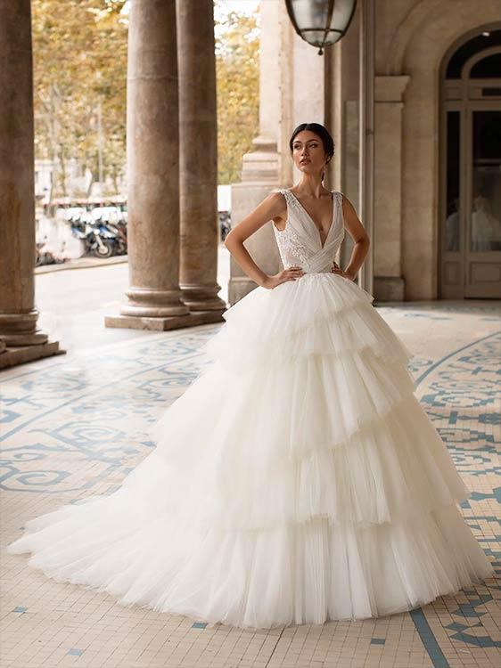 pronovias trajes de novia 2021
