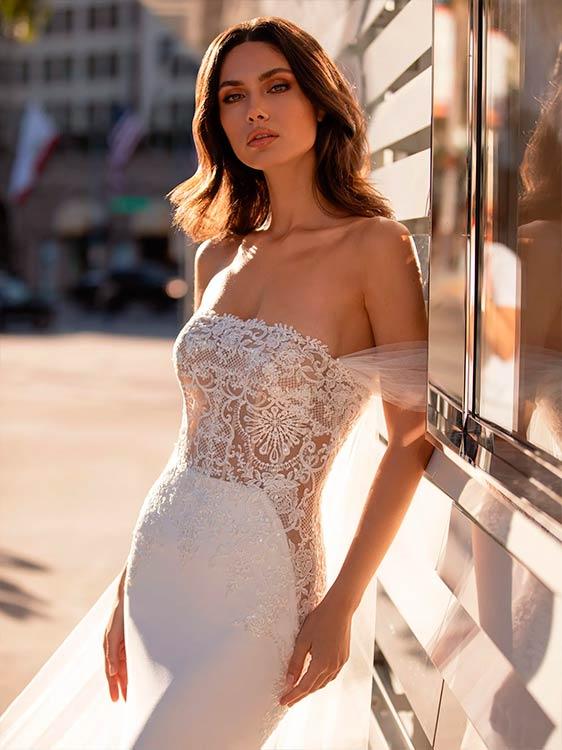 Pronovias vestidos de encajes Novak