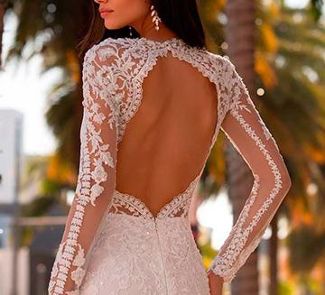los mejores Vestidos de novia con mangas de pronovias del 2021