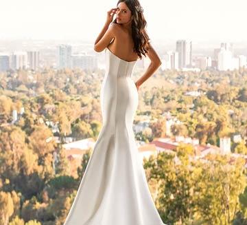 Vestidos de novia corte sirena Pronovias 2021