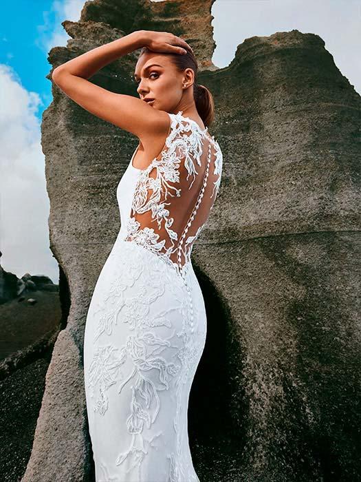 pronovias vestido de novia 2022 Pando