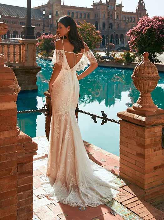 pronovias 2022 vestido Bacan