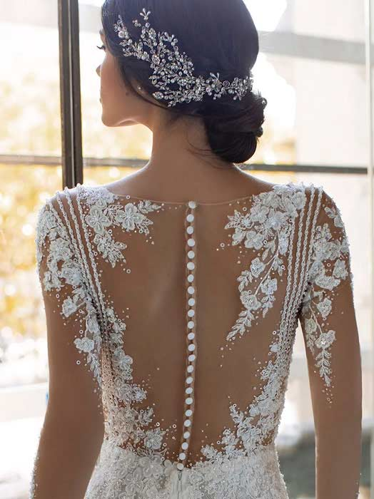 Pronovias Vestido de novia con mangas 2022 Pickford