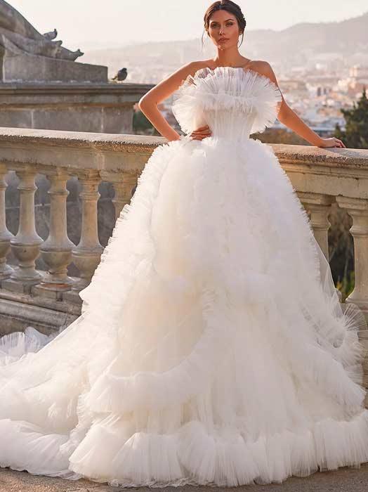 pronovias 2022 vestido Idina