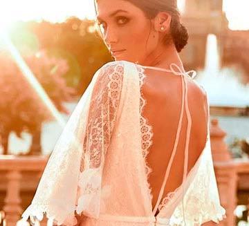 Vestidos de novia con mangas Pronovias