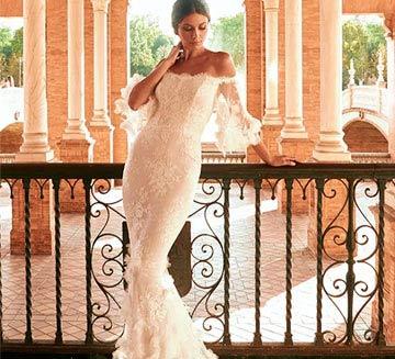 Vestidos de novia corte sirena Pronovias 2022