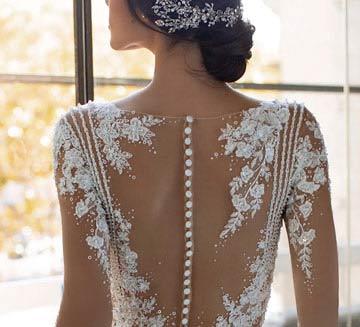 Vestidos de novia tatto lace Pronovias