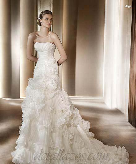 pronovias vestidos de novias