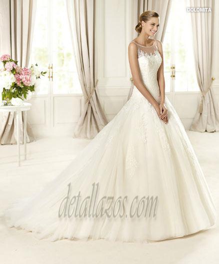 vestidos de novia con encajes 5
