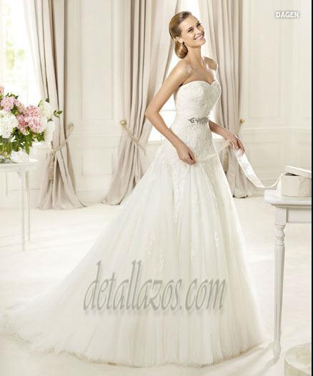 vestidos de novia con encajes 7