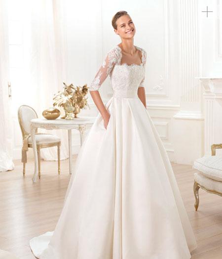 pronovias 2014 vestido leslie modelo lenix - vestido de novia