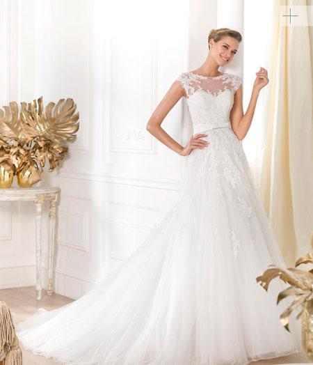 pronovias 2014 vestido leonela modelo lianna - vestido de novia