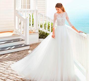 Vestidos de novia de princesa Rosa Clára