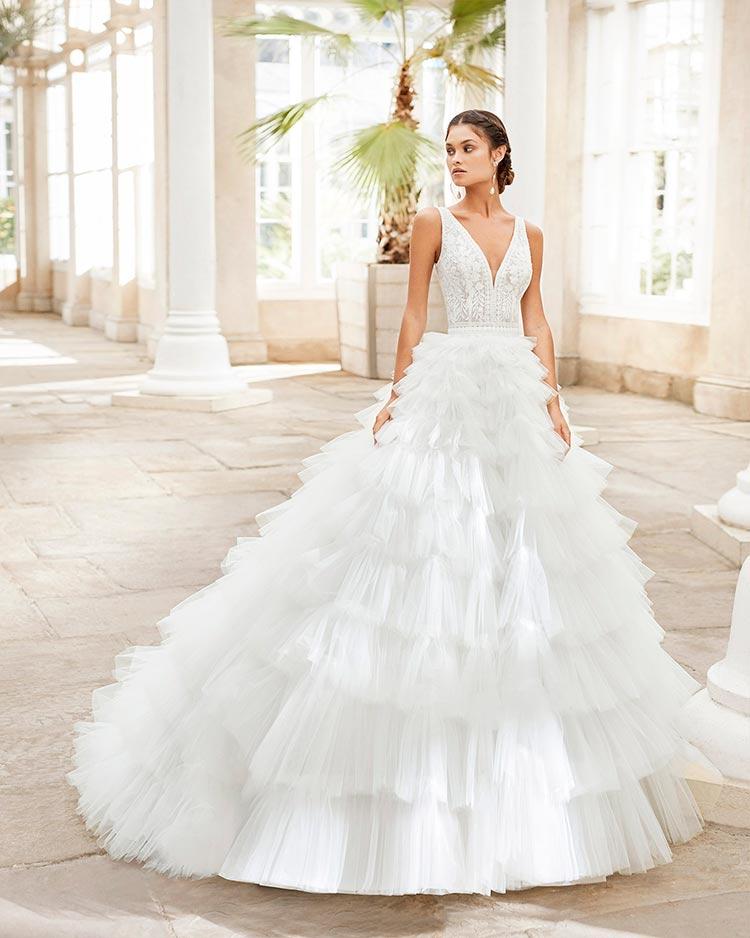 Rosa Clara novias 2021 modelo Tunez