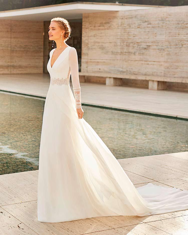 Rosa Clara novias 2021 modelo Elda