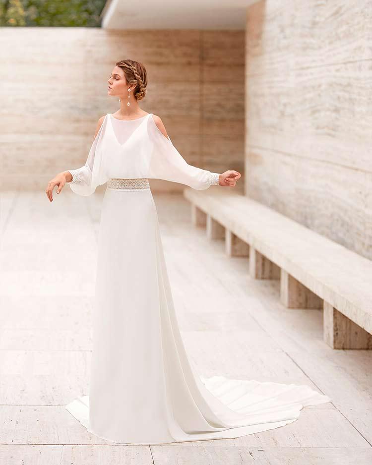Rosa Clara novias 2021 elkan