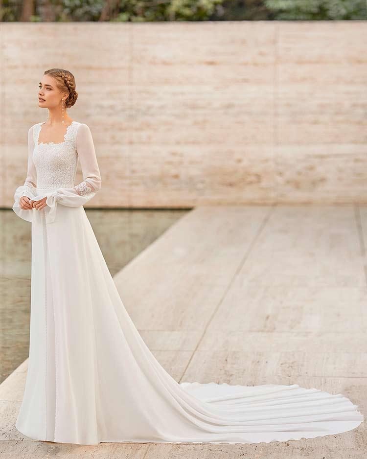 Vestidos de novia Rosa Clará 2021 - Modelo Electo