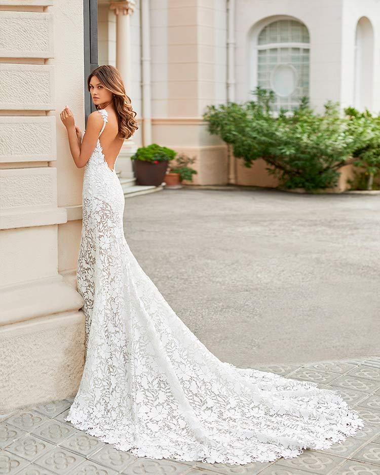 Rosa Clara 2021 vestido de novia Teana