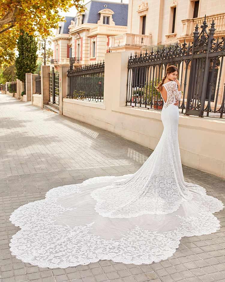 Rosa Clara novias 2021 modelo Tenor