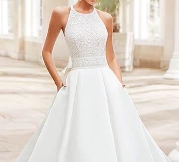 Vestidos de novia de princesa Rosa Clára 2021