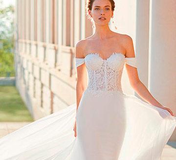 Vestidos de novia sexys Rosa Clara 2021