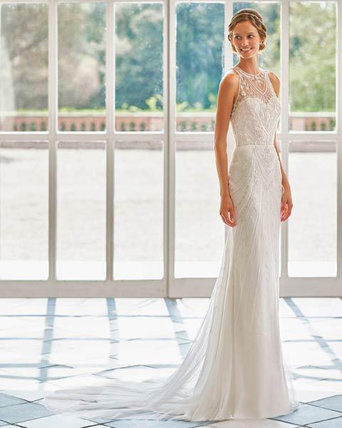 Rosa Clará vestidos 2022 - Modelo Oman
