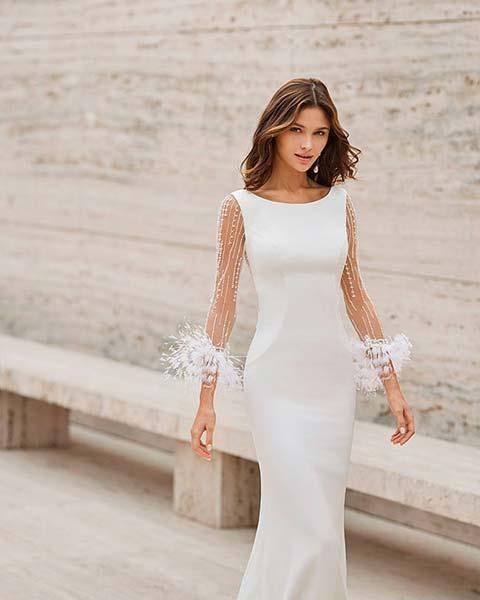 Rosa Clará vestidos 2022 - Modelo Nais