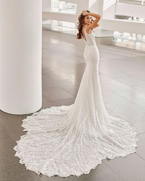 Rosa Clará vestidos 2022 - Modelo Neila