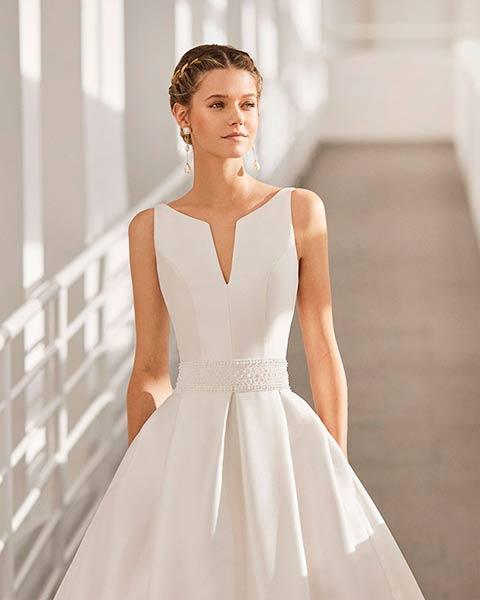 Rosa Clará vestidos 2022 - Modelo Nagano