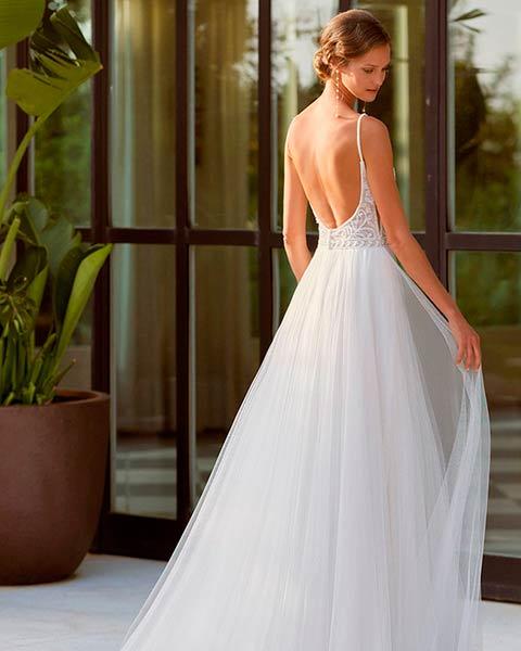 Rosa Clará vestidos 2022 - Modelo Osman