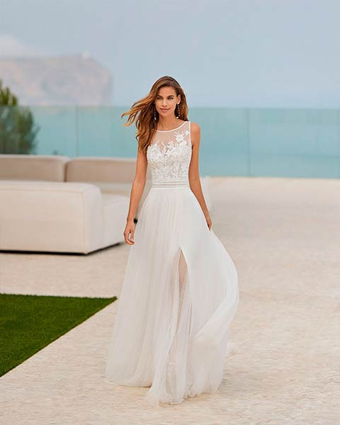 Rosa Clará vestidos 2022 - Modelo Galma