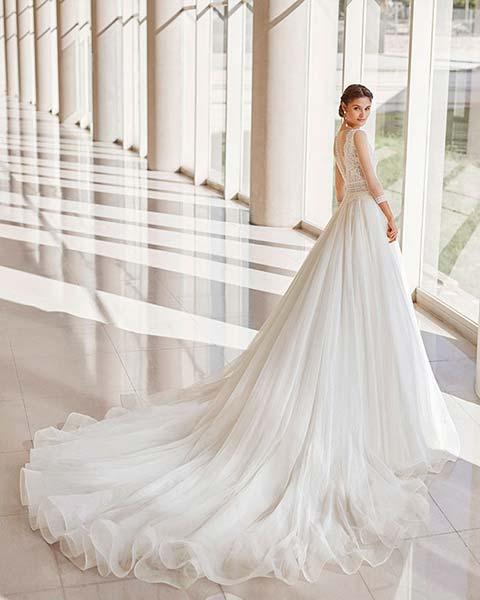 Rosa Clará vestidos 2022 - Modelo Niagara